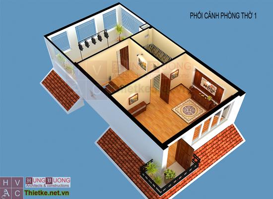 Cải tạo không gian nhà ở kiến trúc tối giản