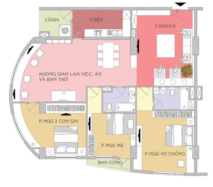 Tư vấn bố trí nội thất căn hộ chung cư