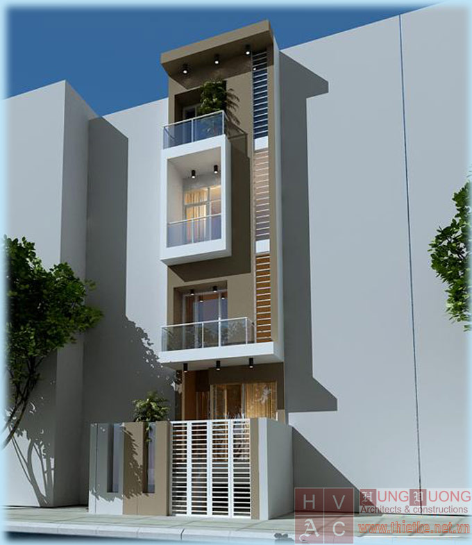 Cải tạo nhà 2,5 lên 4 tầng.