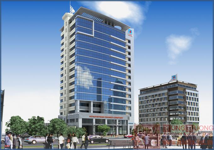 Thiết kế Trung tâm thương mại, Trụ sở PVFC Đà Nẵng