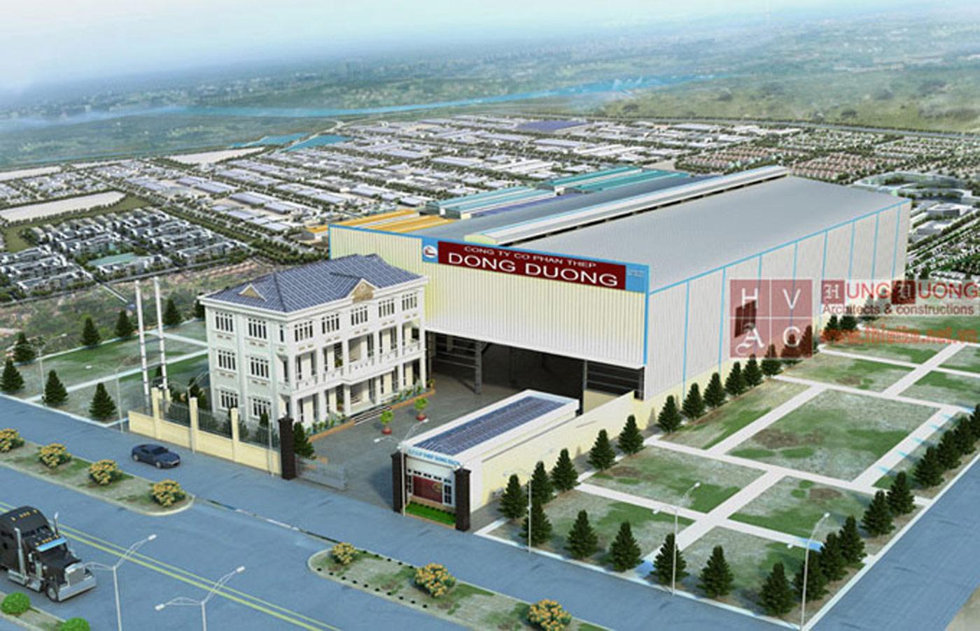 Lập dự án đầu tư, thiết kế thi công Nhà máy thép Đông Dương