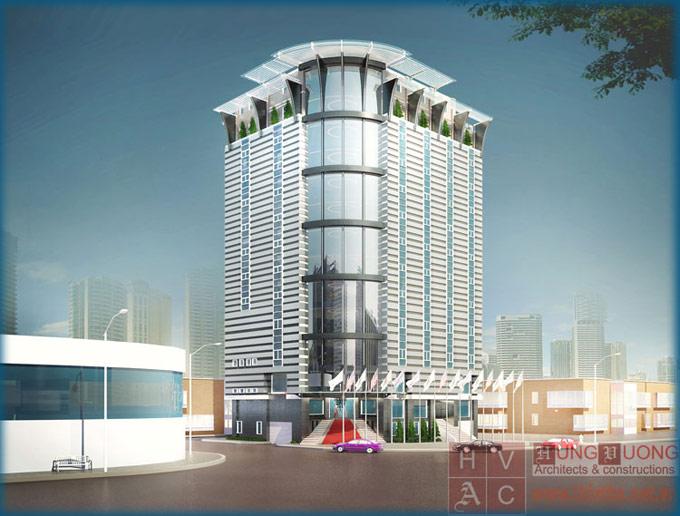 Thiết kế Khách sạn Phúc Tăng - Hải Phòng