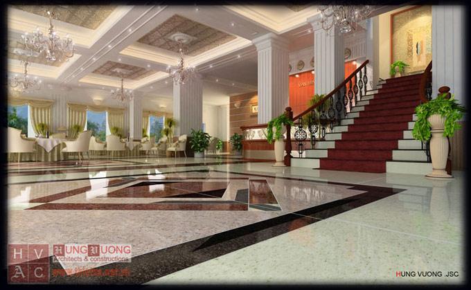 Thiết kế Khách sạn Văn Minh – Lào Cai