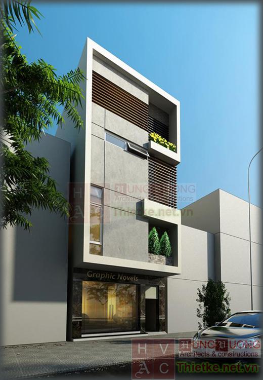 Các mẫu thiết kế nhà phố