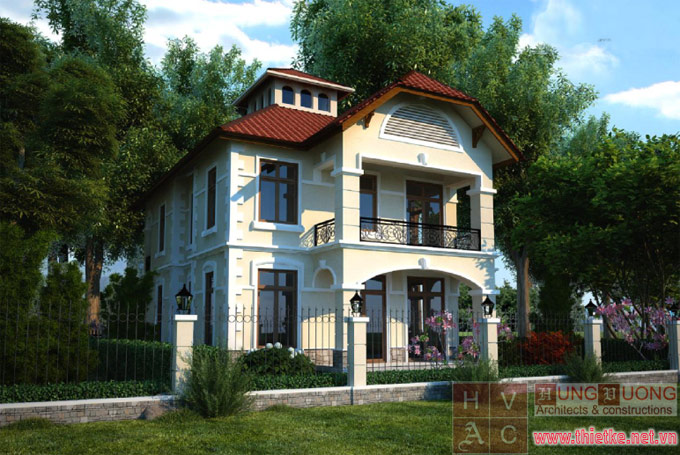 Biệt thự Pháp cổ tại Hà Nội