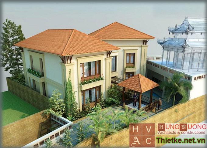 Thiết kế nhà ở kiểu Pháp