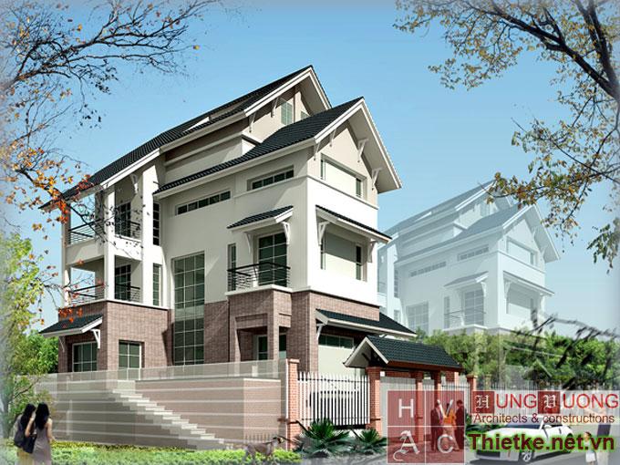 Mẫu biệt thự hiện đại tại Hà Nội