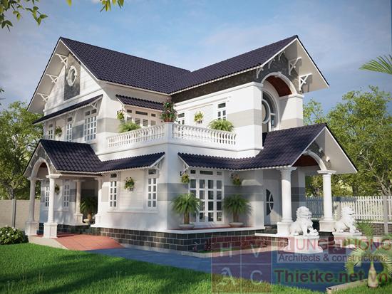 Mẫu thiết kế biệt thự vườn đẹp