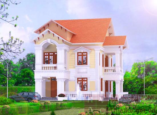 Thiết kế biệt thự vườn đẹp