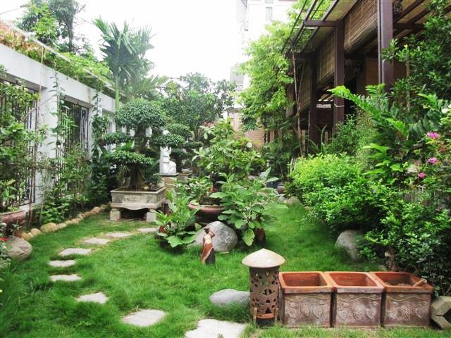 tiểu cảnh | sân vườn