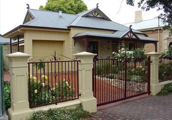 Mẫu cổng đẹp cho biệt thự