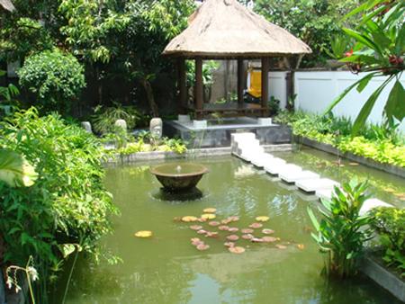 Sân vườn theo phong cách đồng quê