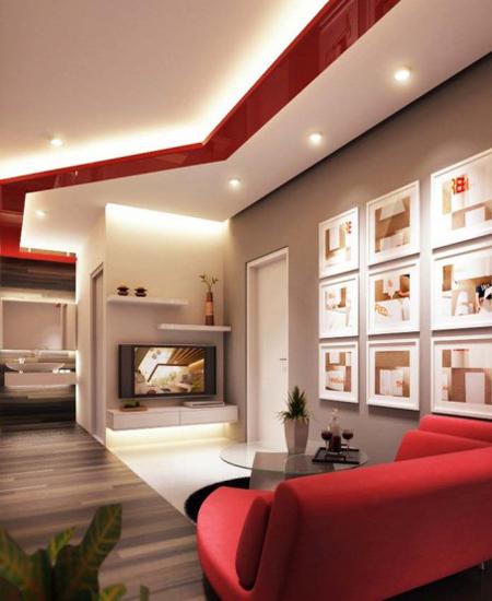 Phòng khách phong cách và sang trọng