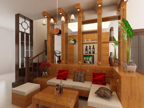Phòng khách thiết kế đẹp