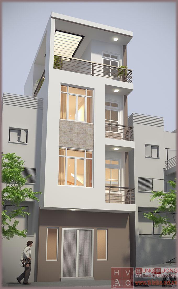 Xây dựng trọn gói - nhà Bà Đỗ Thị Lan - Bạch Đằng, Hà Nội